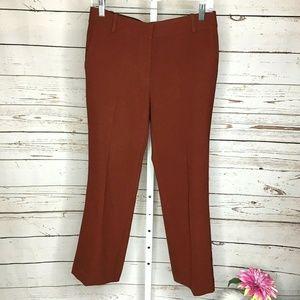 Ann Taylor Rust Colored Dress Pants Size 4